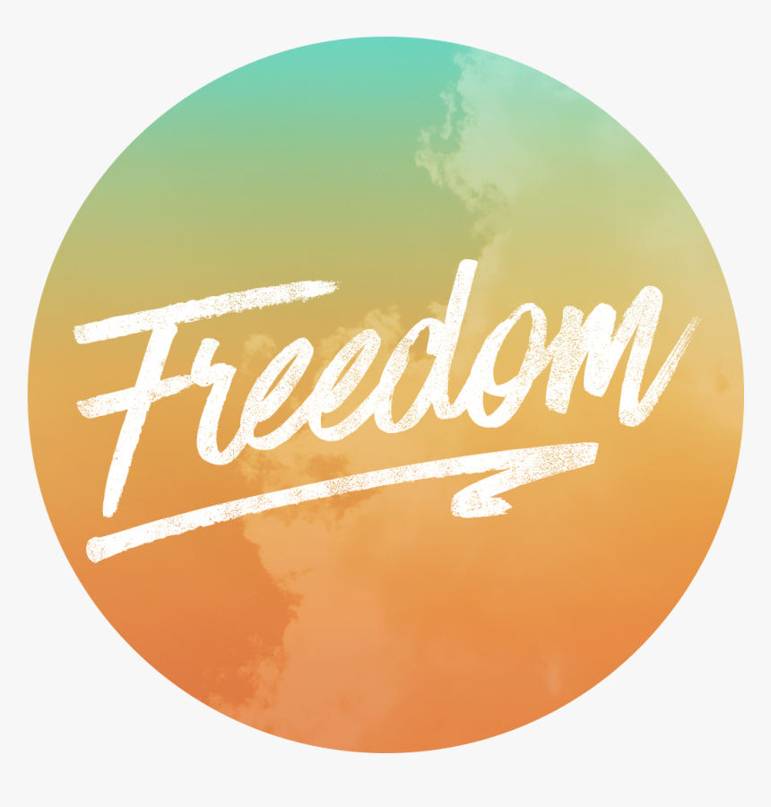 Freedom Quest Circle Logo Colorful Cloud Freedom Only, HD Png Download, Free Download