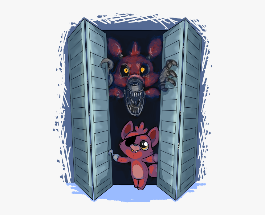 Fnaf Foxy Plush In Game, HD Png Download, Free Download