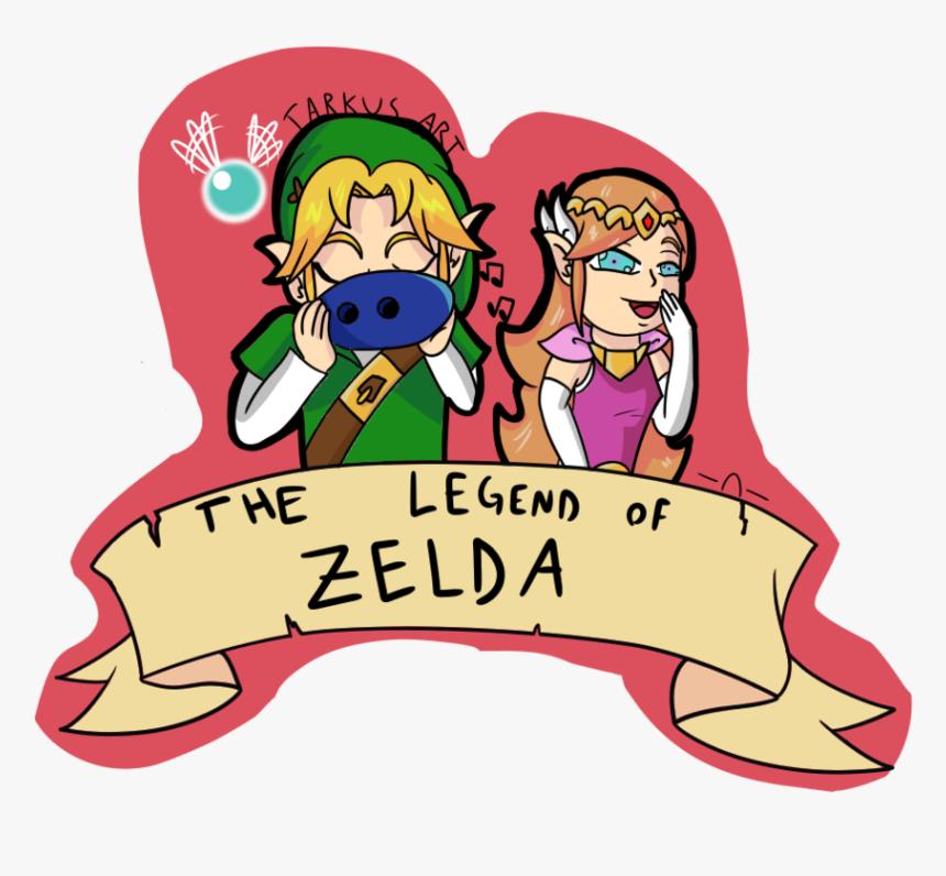 The Legend Of Zelda Sticker By Tarkus Art By Dark Cloud - Cartoon, HD Png Download, Free Download
