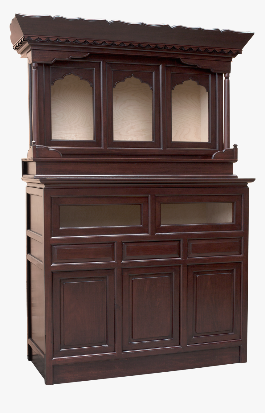 Traditional Tibetan Altar Cabinet - Hutch, HD Png Download, Free Download