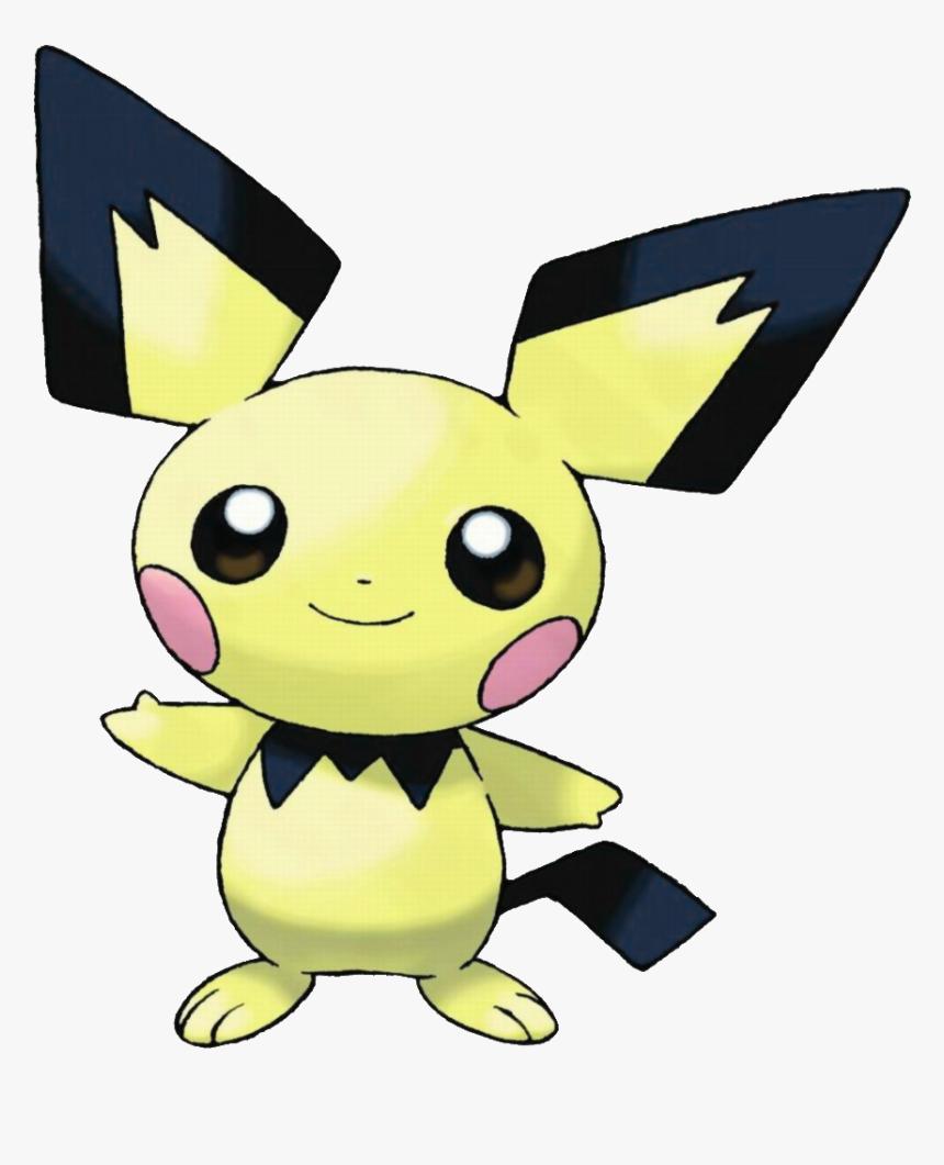 Image Pichu Png Nintendo - Pokemon Pichu Evolution, Transparent Png, Free Download