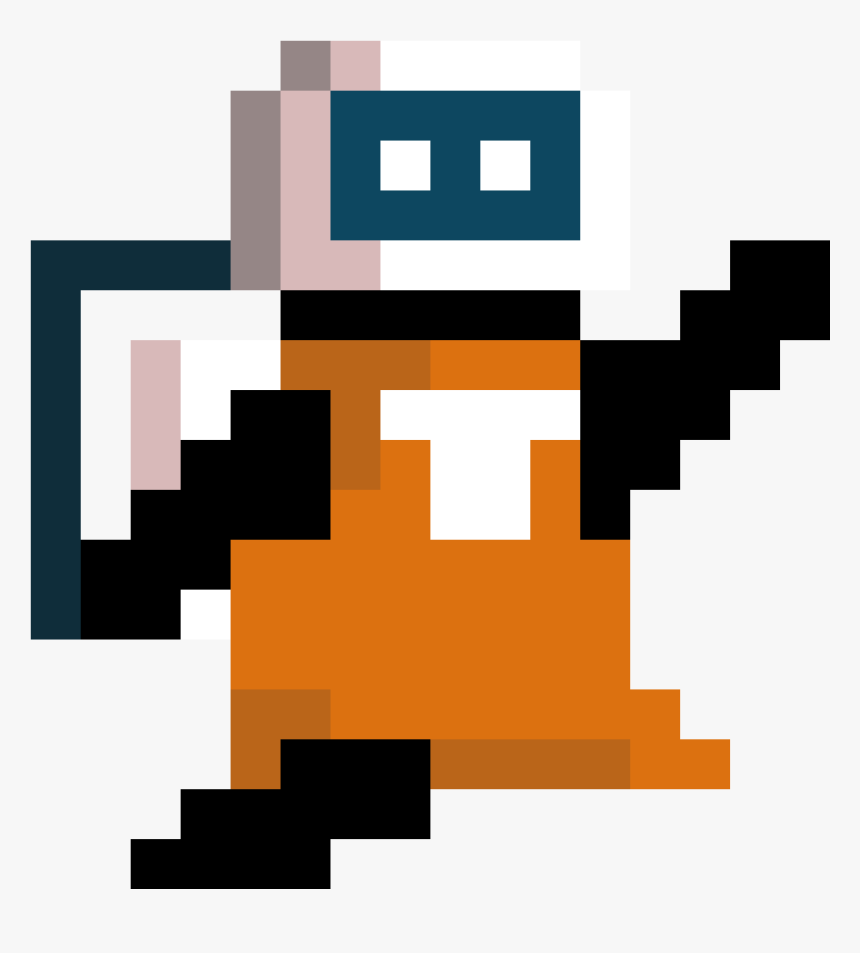 Transparent Space Man Png - Video Game Character Gif, Png Download, Free Download