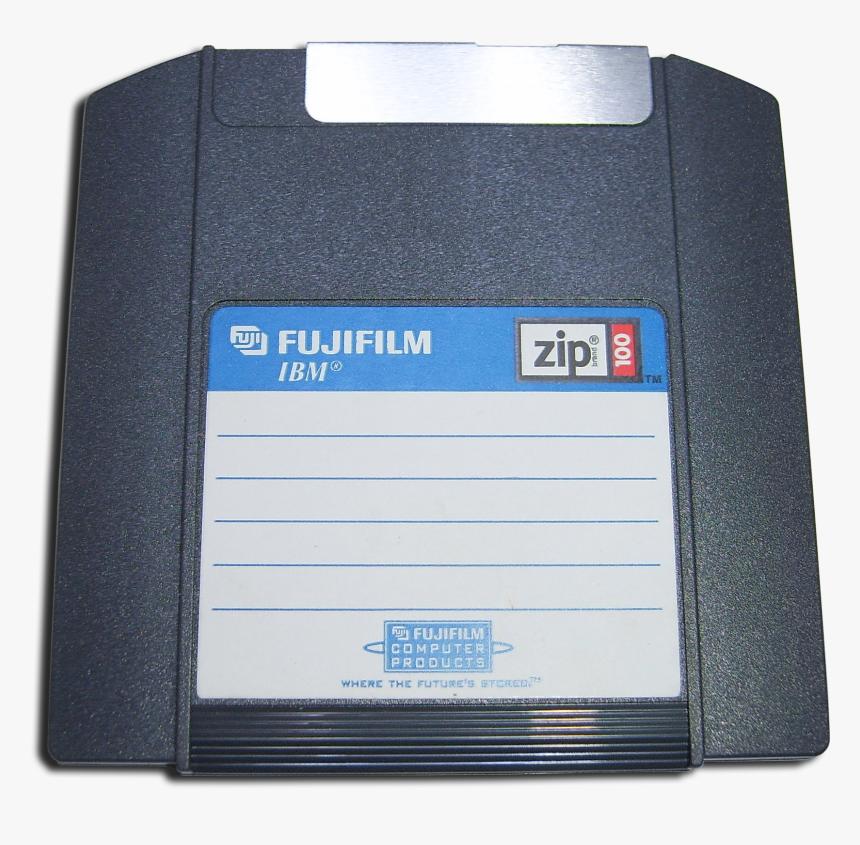 Zip 100a Transparent - Zip Floppy Disk, HD Png Download, Free Download