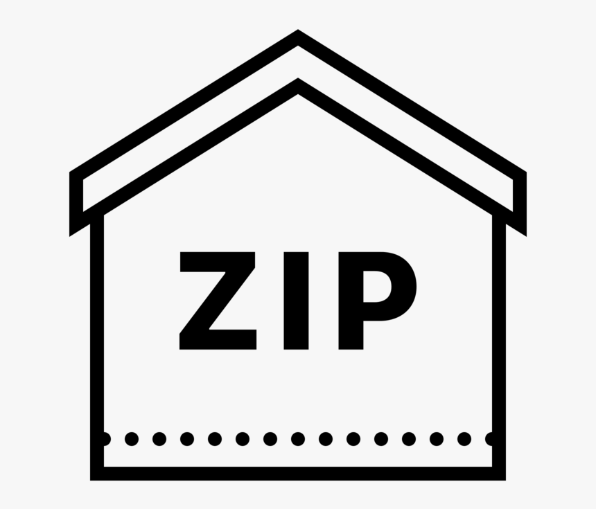 Zip Code Icon - Zip Code Icon Png, Transparent Png, Free Download