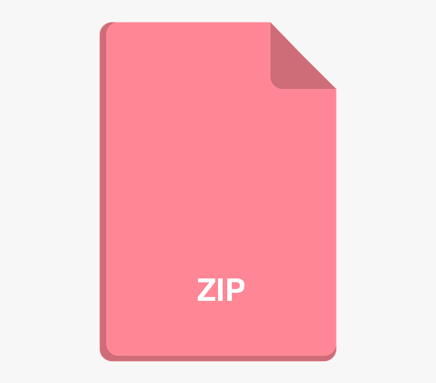 File Icon, Vector File, Zip Icon, Zip, Flat Icon - Gadget, HD Png Download, Free Download