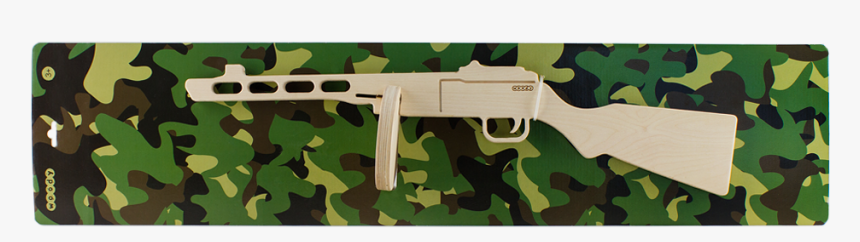 Wooden Submachine Gun - Assault Rifle, HD Png Download, Free Download