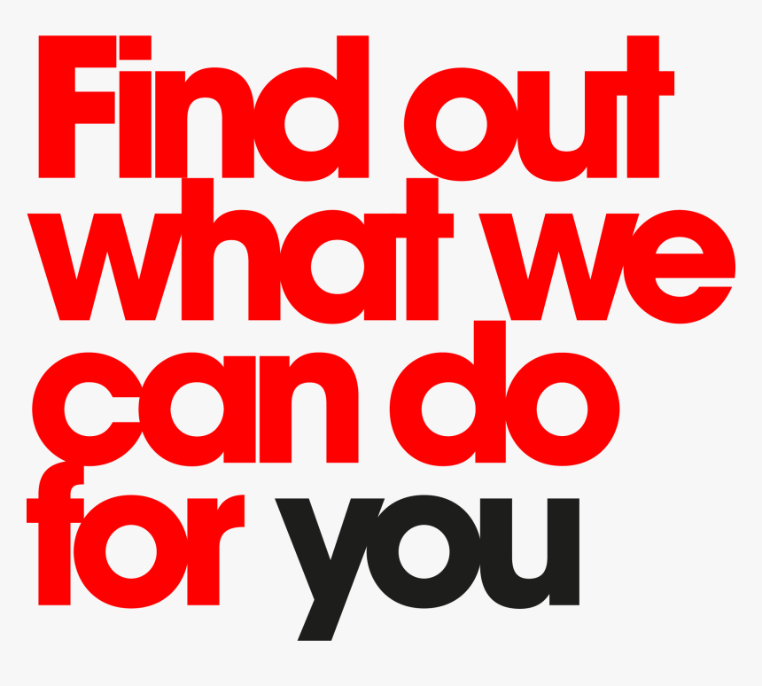 We Can Do For You - We Do Png, Transparent Png, Free Download