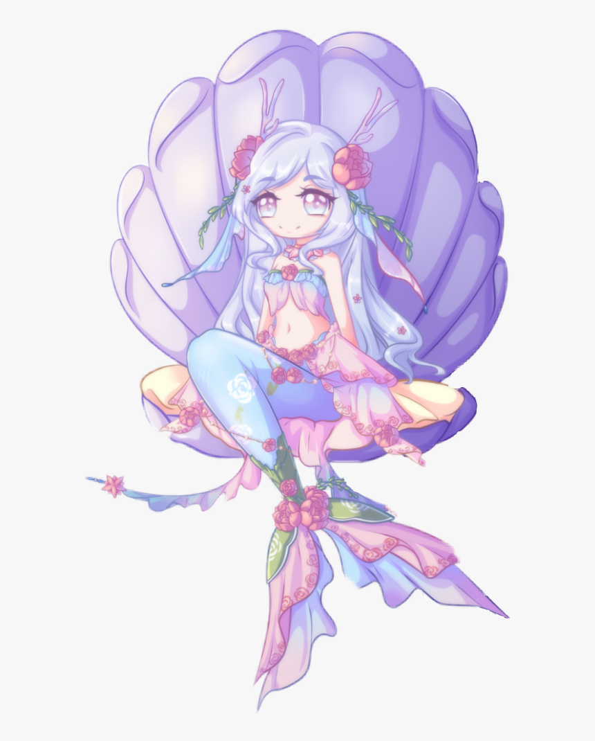 kawaii #mermaid #cute #adorable #anime #chibi - Chibi Anime