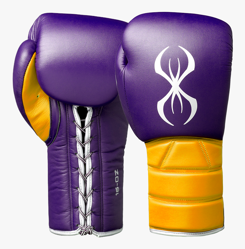 Boxing Gloves Purple And Gold, HD Png Download, Free Download