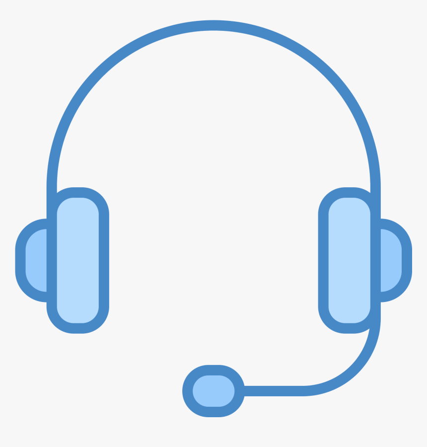 Headphone Icon Stuck On Android - Blue Headset Icon, HD Png Download, Free Download