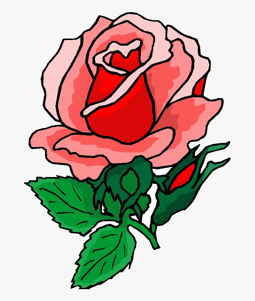 Rose Free Clipart Public Domain Flower Clip Art Images Hd Png Download Kindpng