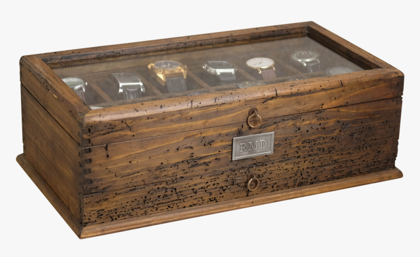 Glass Watch Box With Drawer No, HD Png Download, Free Download