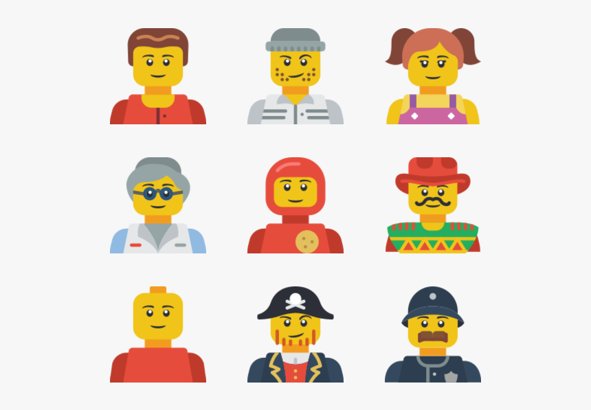 Lego Avatars, HD Png Download, Free Download