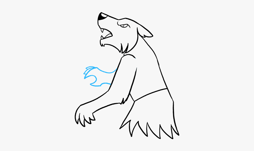 How To Draw Werewolf, HD Png Download, Free Download