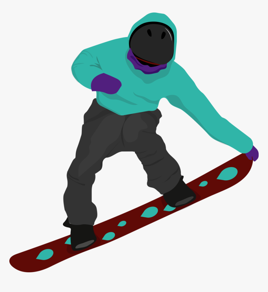 Snowboard Clipart Olympic Snowboarding Hd Png Download Kindpng