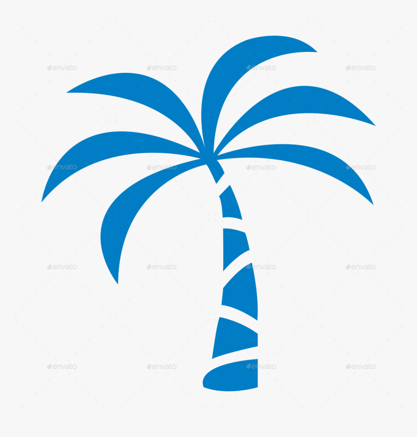Palm Tree Icon Png, Transparent Png, Free Download