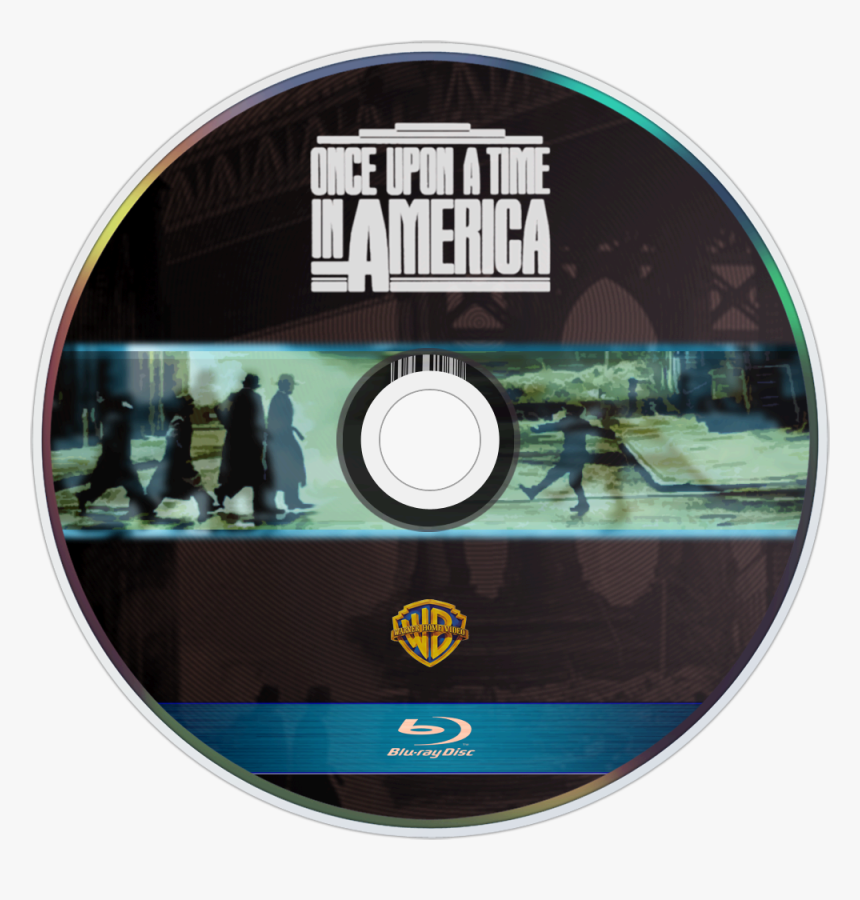 Once Upon A Time In America Bluray Disc Image, HD Png Download, Free Download