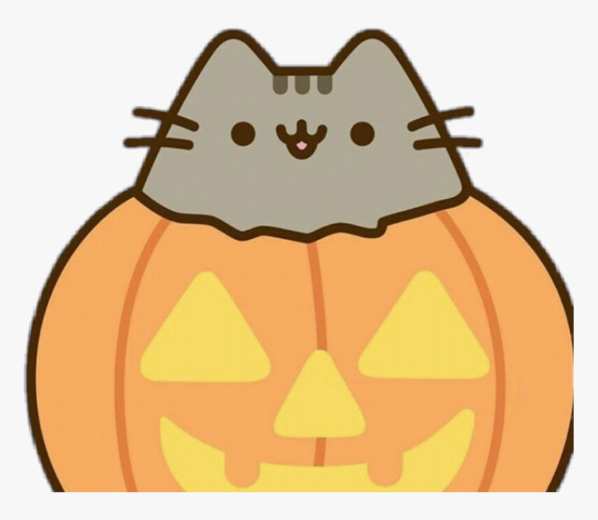 Pusheen Cat Clipart Halloween, HD Png Download, Free Download