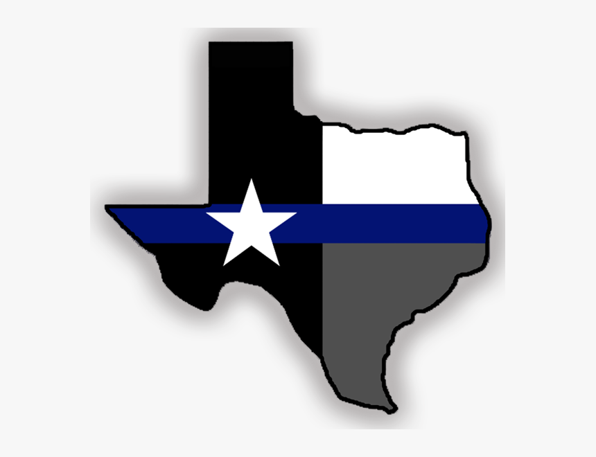Image Result For Thin Blue Line Sticker Texas, HD Png Download, Free Download