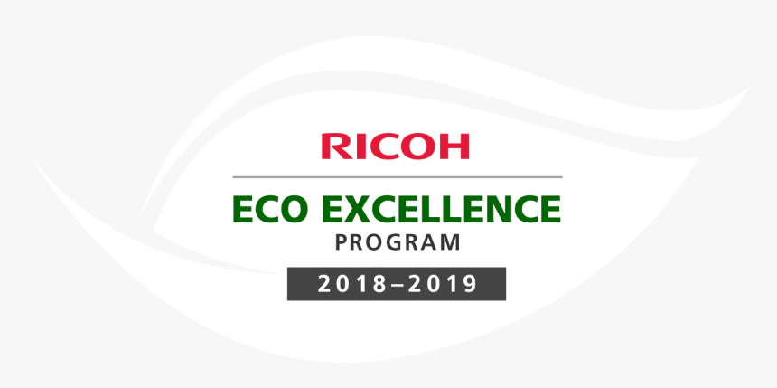 Ricoh Eco Excellence 2018-2019, HD Png Download, Free Download
