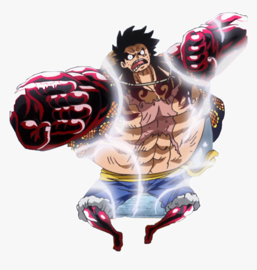 Monkey D Luffy Gear 4th Hd Png Download Kindpng