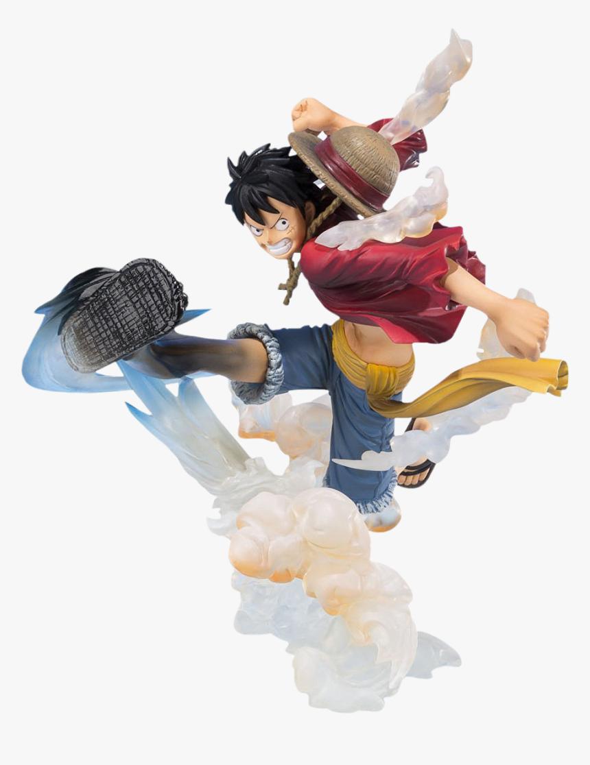 "Monkey D Luffy Gum Gum Hawk Whip Figuarts Zero 6"" Statue, HD Png Download, Free Download"