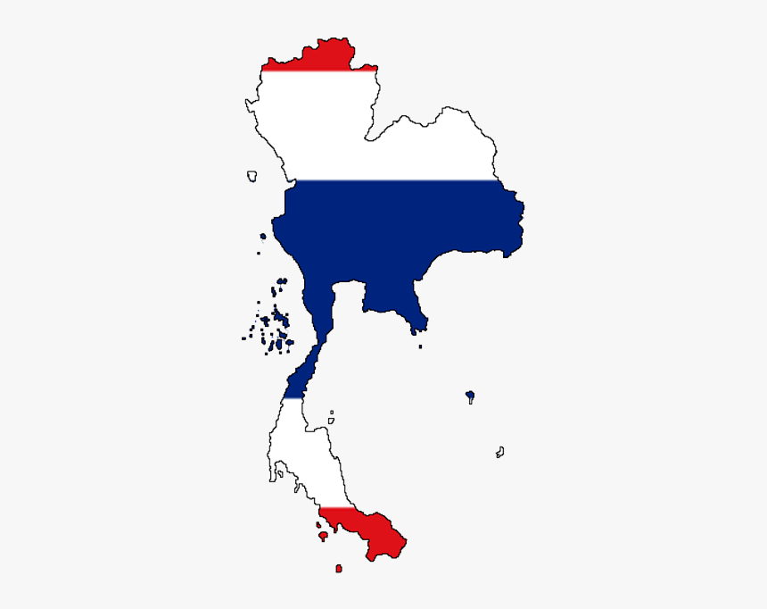 Thailand Map Png, Transparent Png, Free Download