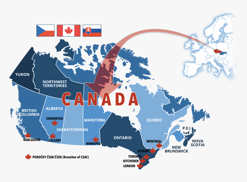 Tomtom Canada Map Download Free Tomtom Map Of Canada & Alaska, HD Png Download   kindpng