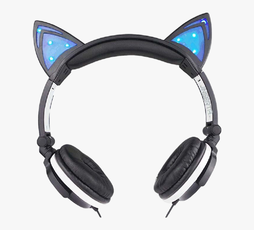 Headphone Transparent Cat, HD Png Download, Free Download