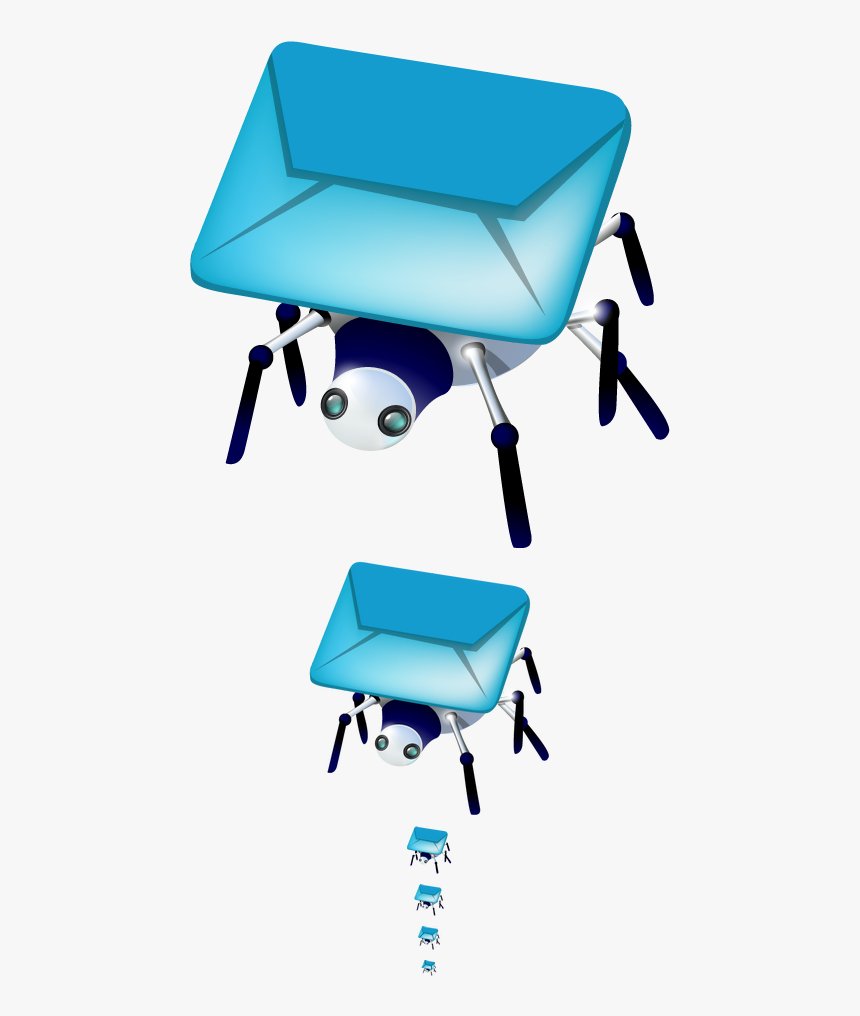Mail Spider Icon On Behance, HD Png Download, Free Download