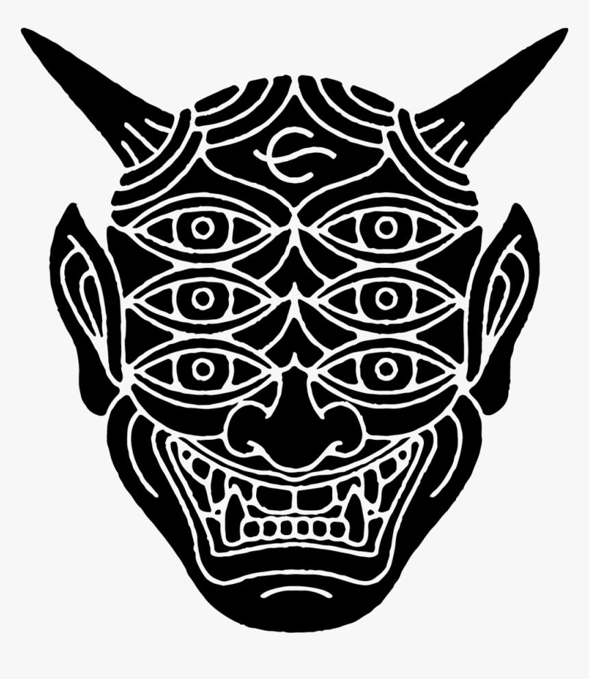 Cs Oni Mask, HD Png Download, Free Download