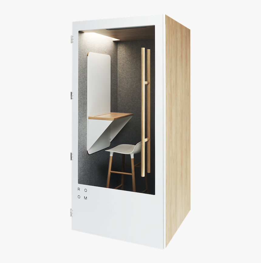 Minimalist Office Phone Booth Can Turn Any Space Into, HD Png Download, Free Download