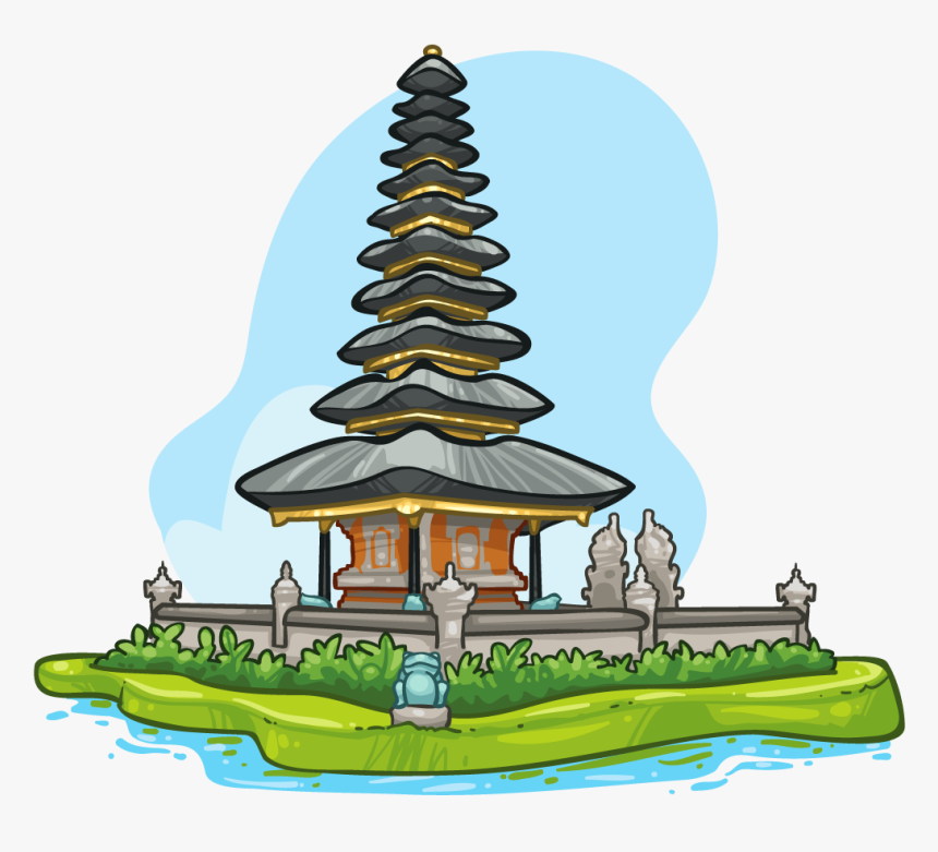 Bali Temple Clipart, HD Png Download, Free Download
