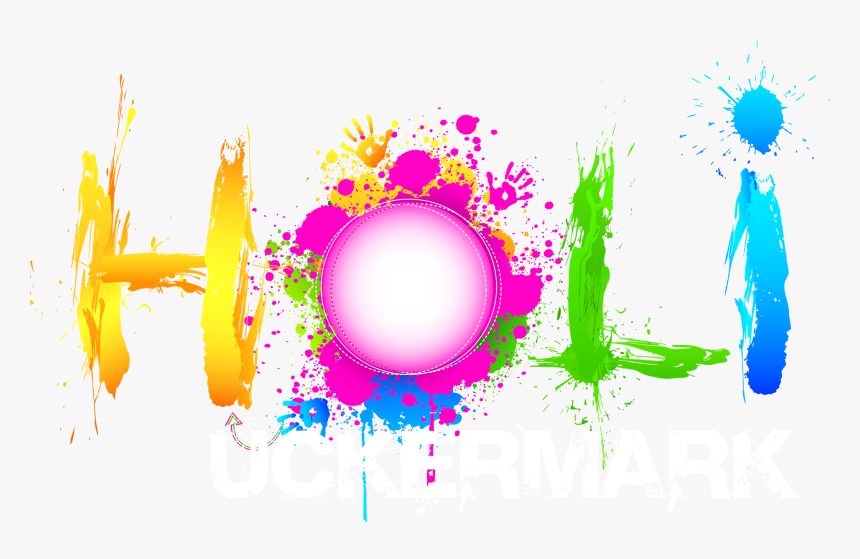 Cb Happy Holi Text Transparent Background, HD Png Download, Free Download