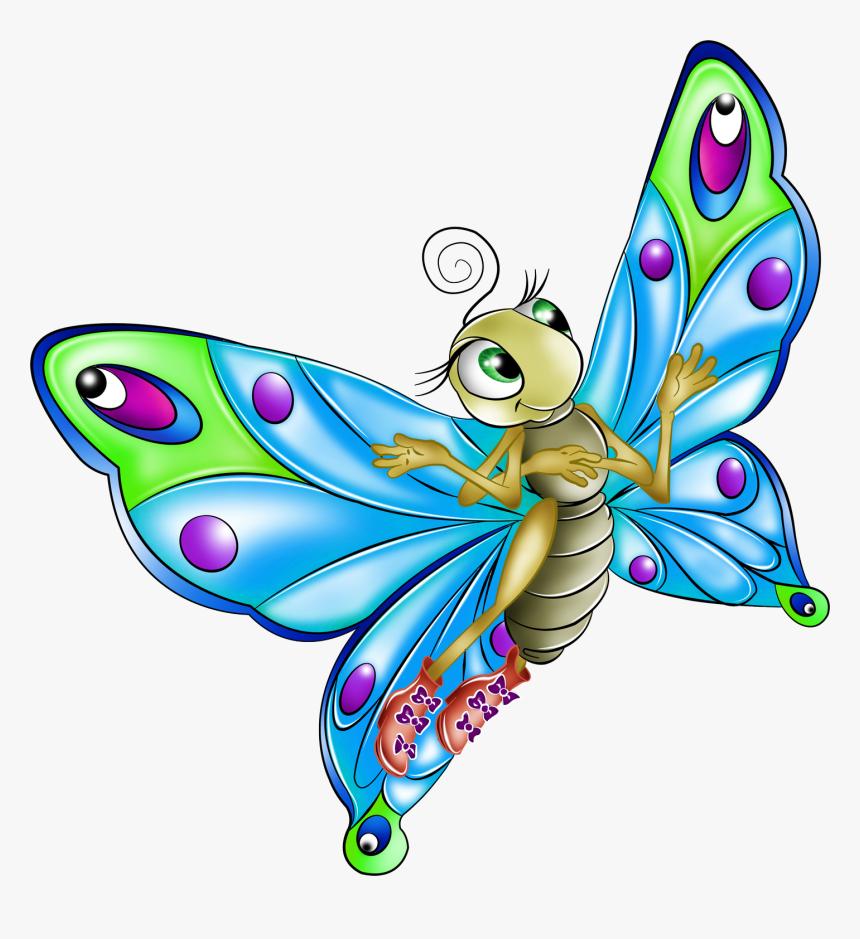 Desenhos Coloridos De Borboletas Hd Png Download Kindpng