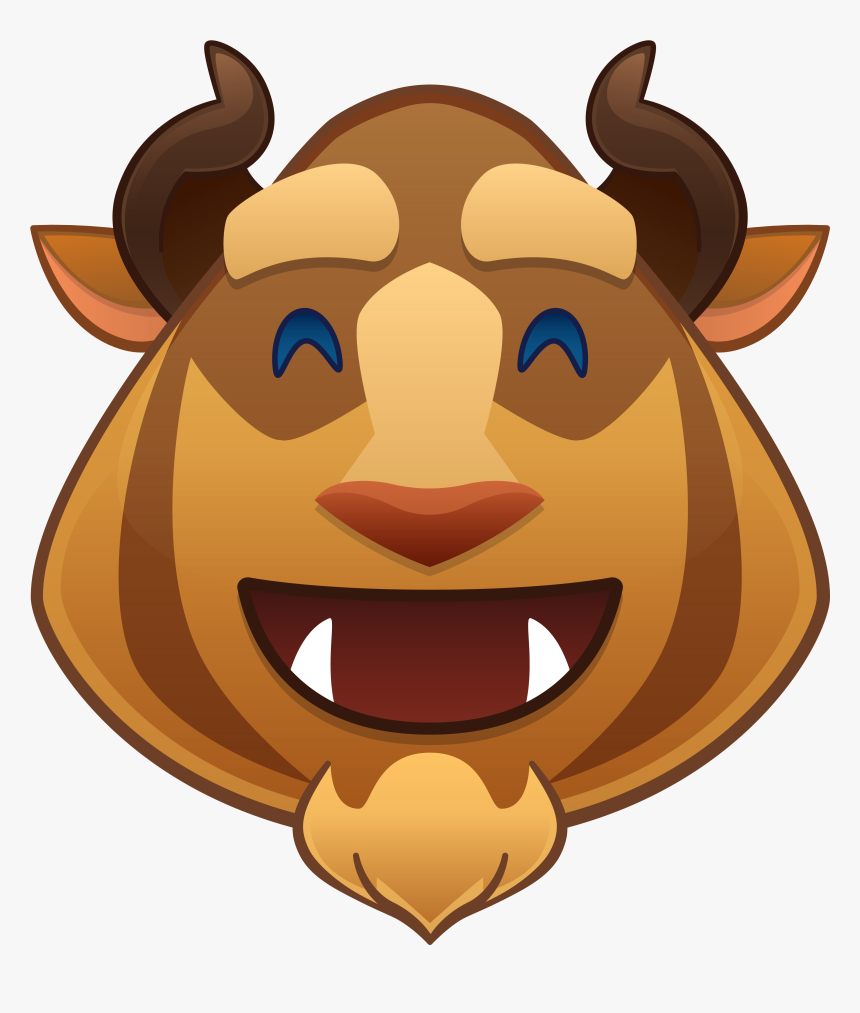 Disney Emoji Beauty And The Beast, HD Png Download, Free Download