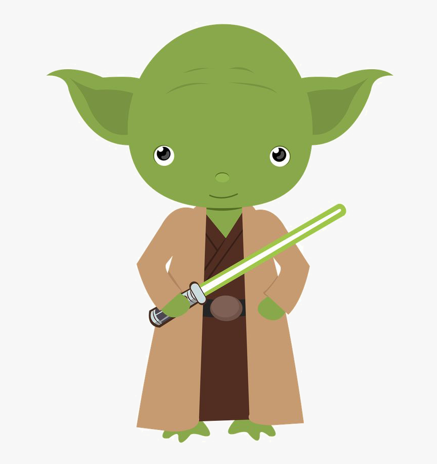 Yoda Star Wars Png - Baby Star Wars Clipart, Transparent Png, Free Download