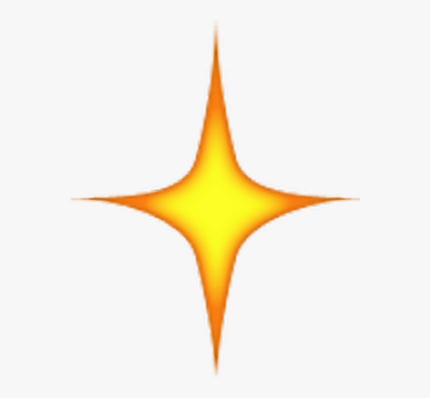 Star Emoji Png - Transparent Background Spark Emoji, Png Download, Free Download