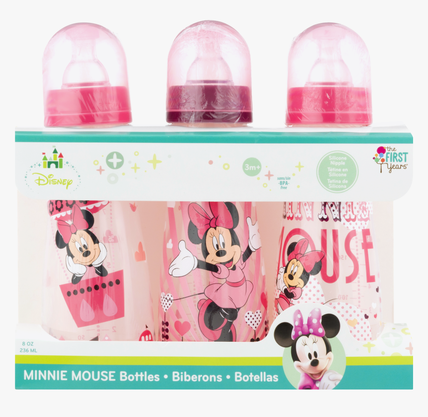 Minnie Mouse Baby Bottles - Walmart Baby Girls Bottle Minnie, HD Png Download, Free Download