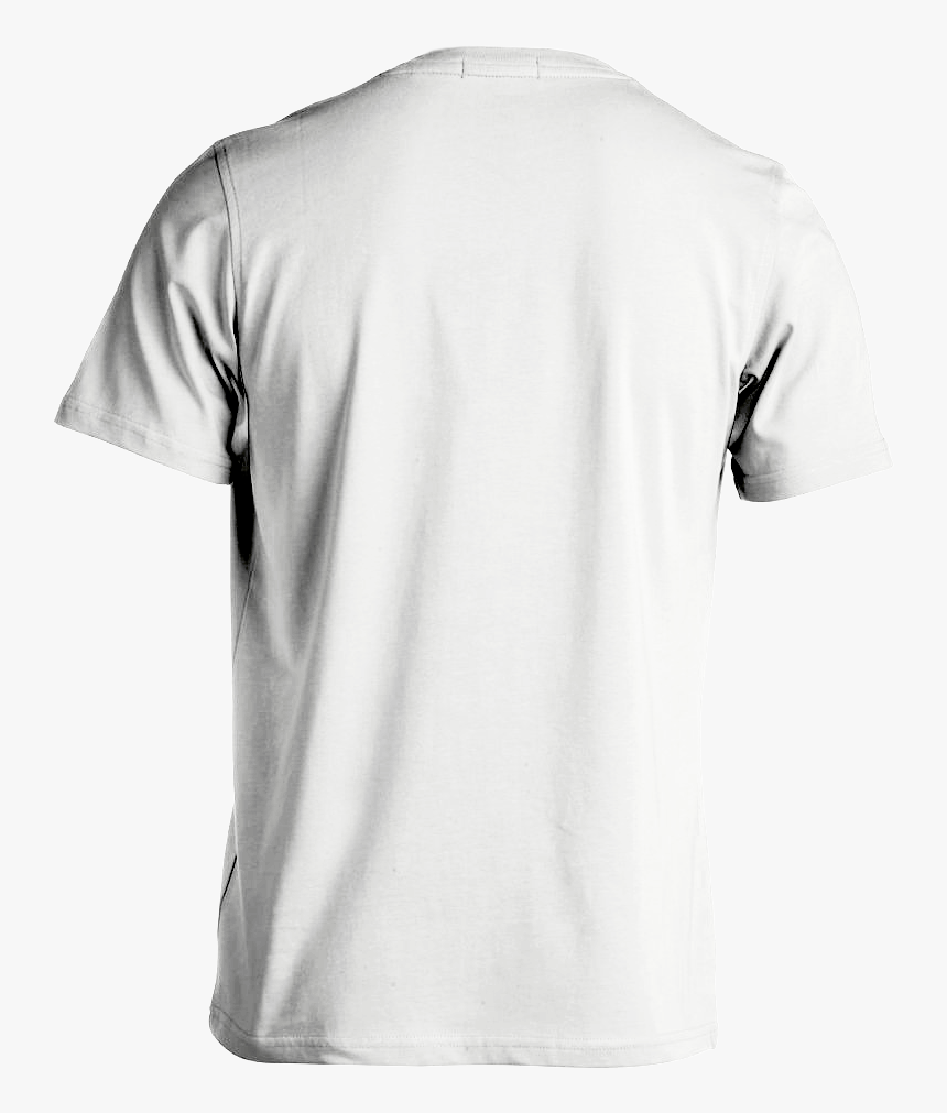 White Shirt Template Png White T Shirt Template White Shirt Template Back Transparent Png Kindpng