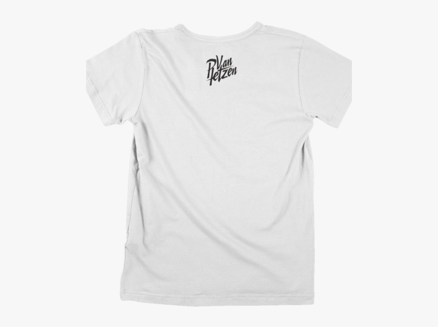 White Crew T Back - Active Shirt, HD Png Download, Free Download
