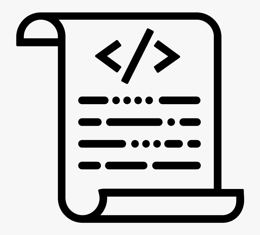 transparent write icon png test script icon png png download kindpng test script icon png png download