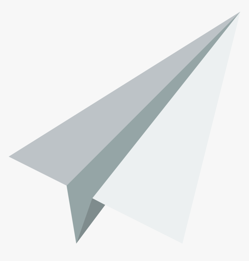 Paper Plane Icon White Paper Plane Vector Hd Png Download Kindpng
