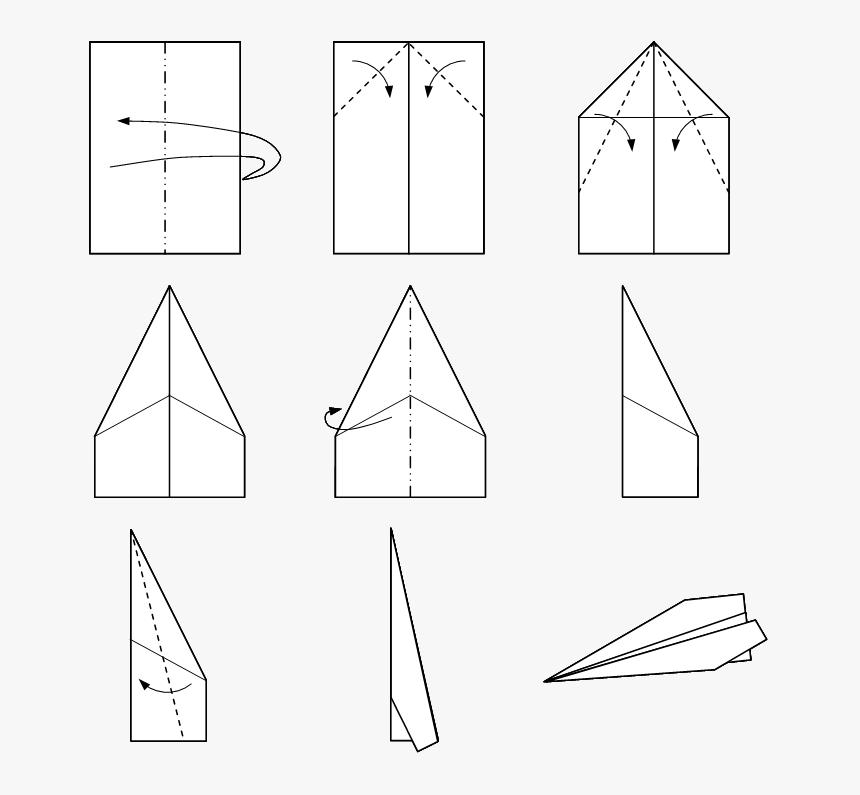 Paper Airplane Make A That Flies Far Hd Png