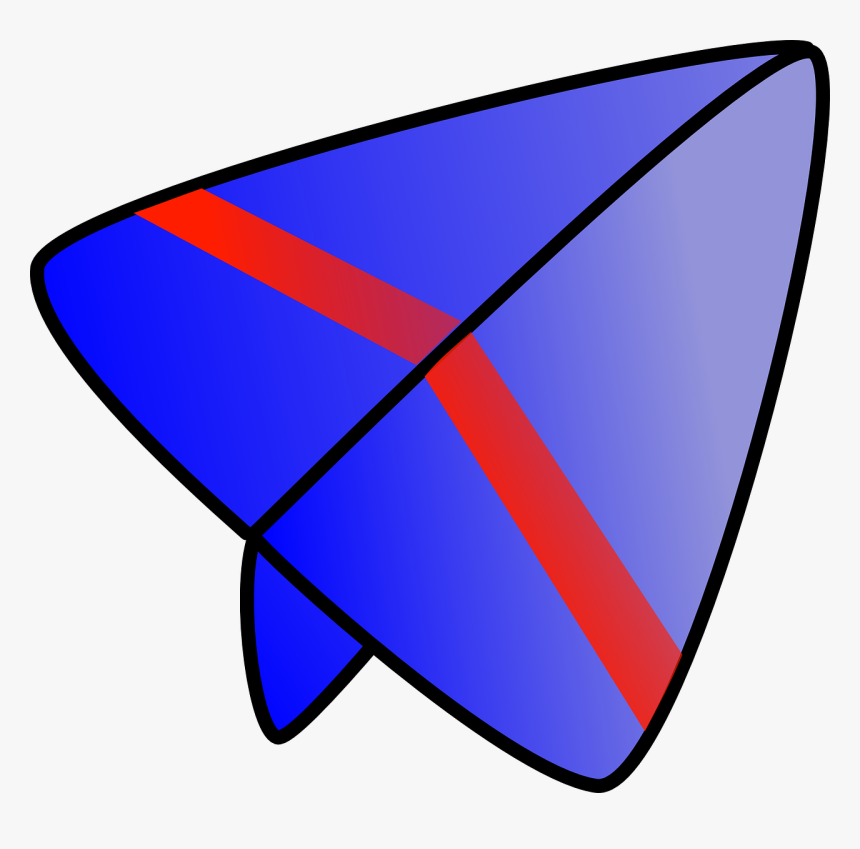 Paper Airplane Airplane Glider Free Picture - Paper Plane, HD Png Download, Free Download