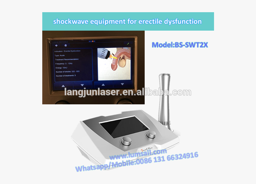Low Intensity Shock Wave For Ed/ Edswt Erectile Dysfunction - Gadget, HD Png Download, Free Download