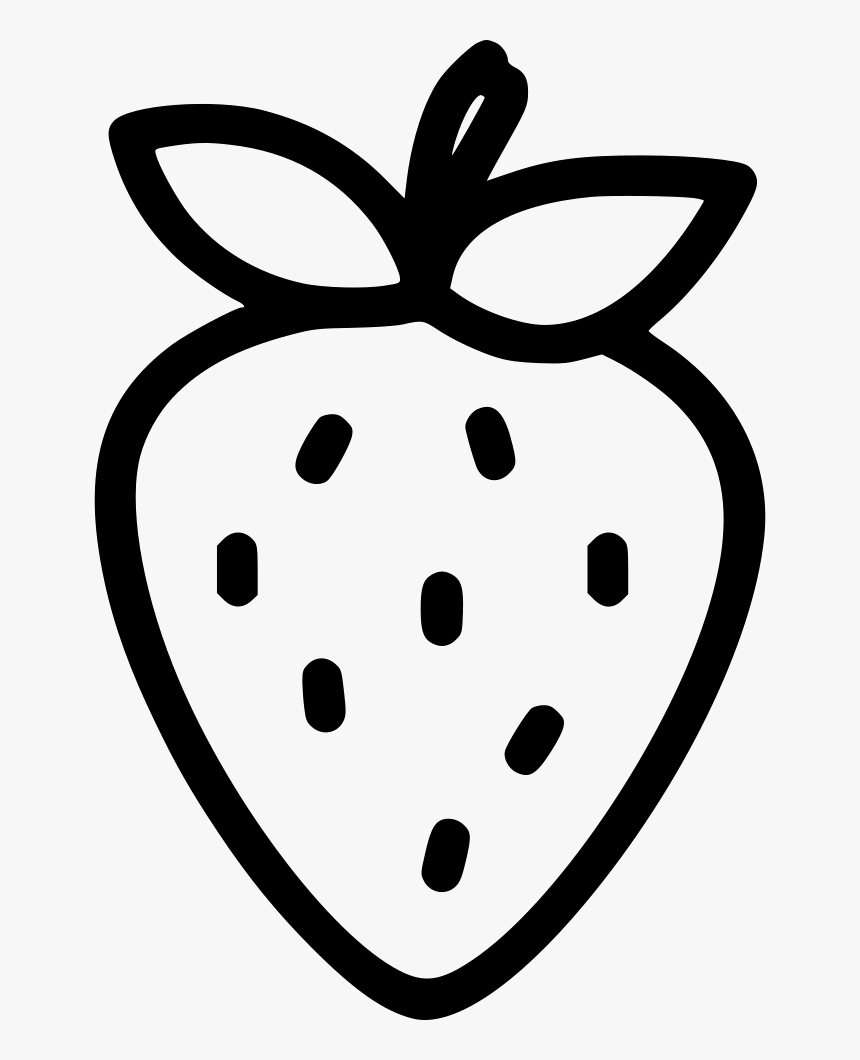 Strawberry Fruit - Strawberry Svg Free, HD Png Download, Free Download