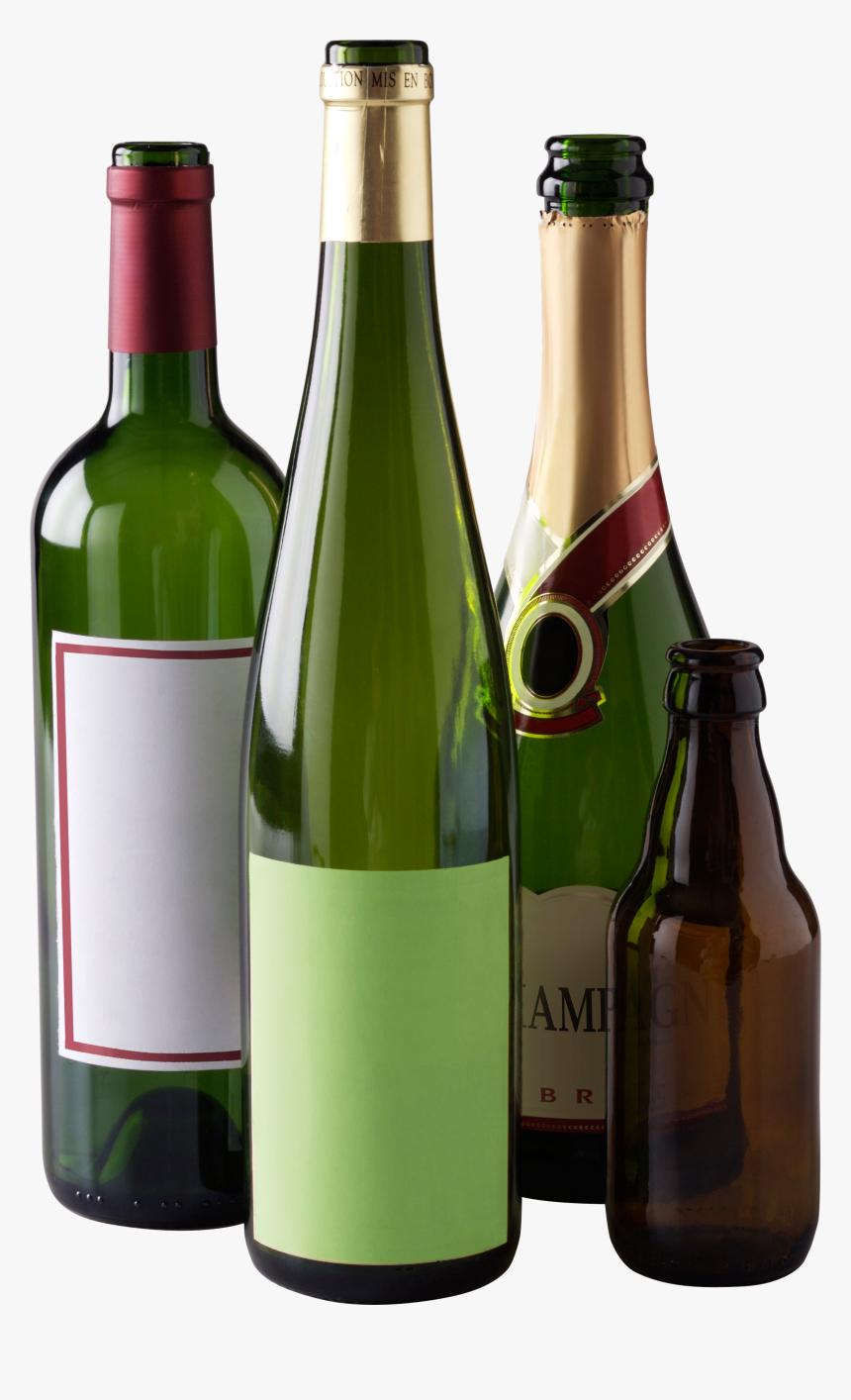 Wine Bottles Png, Transparent Png, Free Download