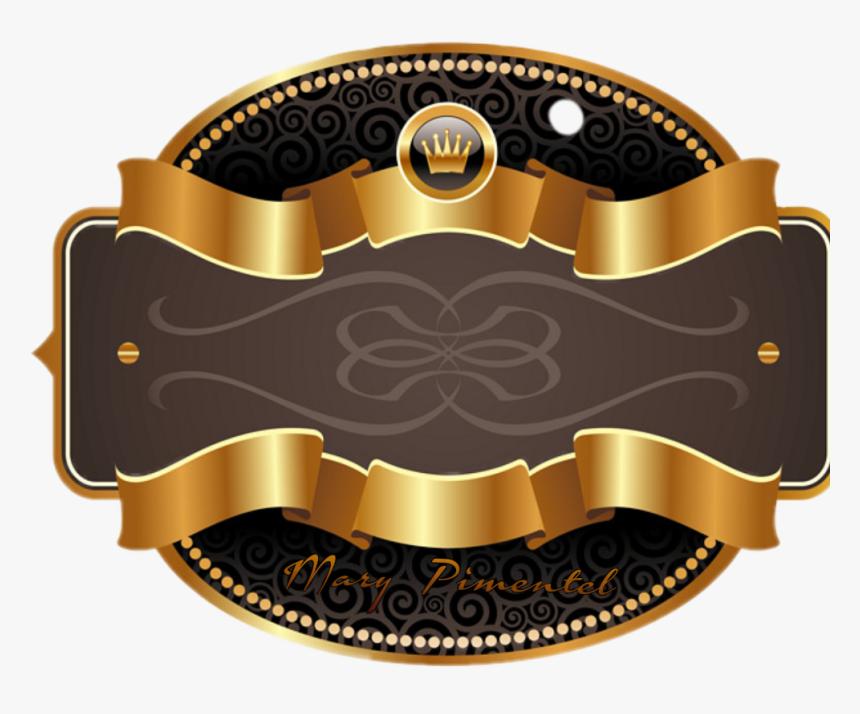 Transparent Etiqueta Png - Ribbon Gold Badge Png, Png Download, Free Download