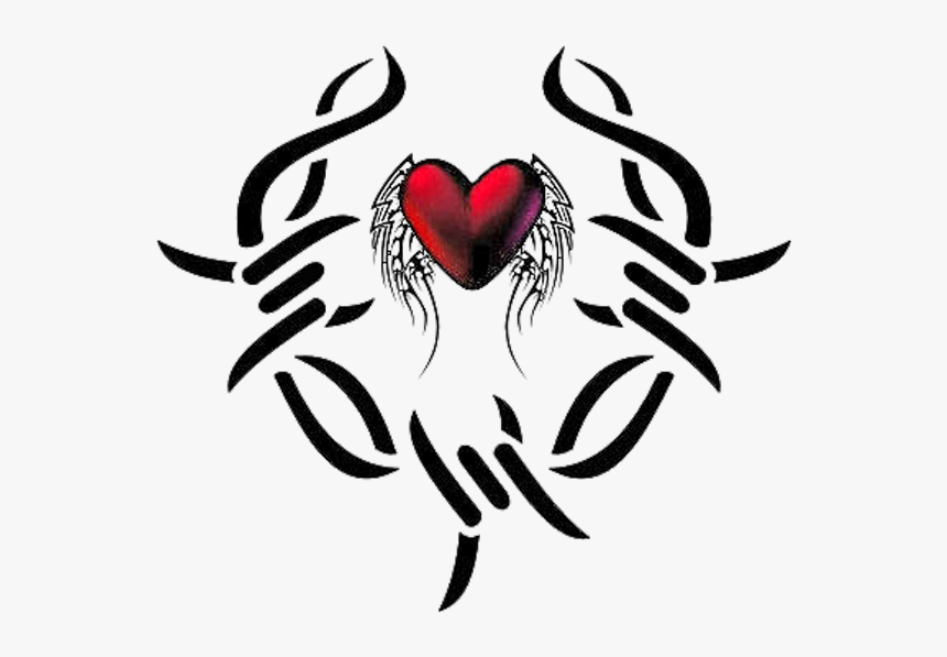 Heart Tattoos Download Png - Cb Edit Tattoo Png, Transparent Png, Free Download